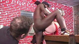 Mind blowing black porn be expeditious for the wife in strong cuckold scenes